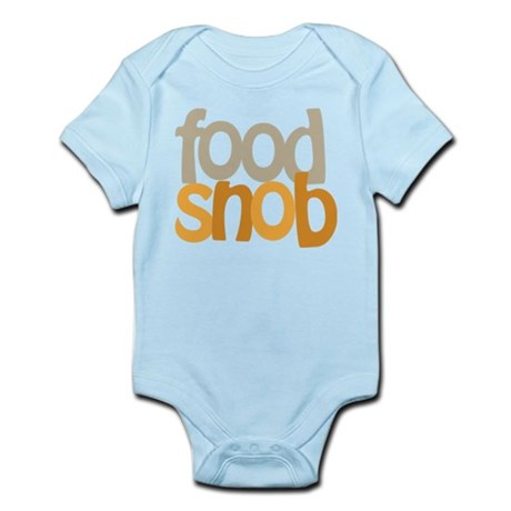 Food Snob Infant Bodysuit