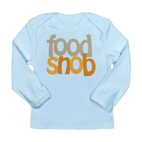 Food Snob Long Sleeve Infant T-Shirt