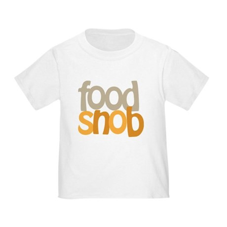 Food Snob Toddler T-Shirt