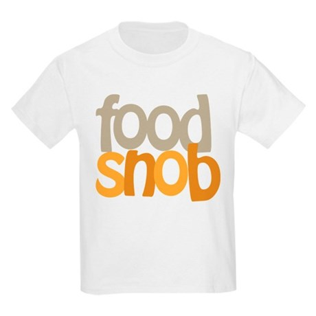 Food Snob Kids Light T-Shirt