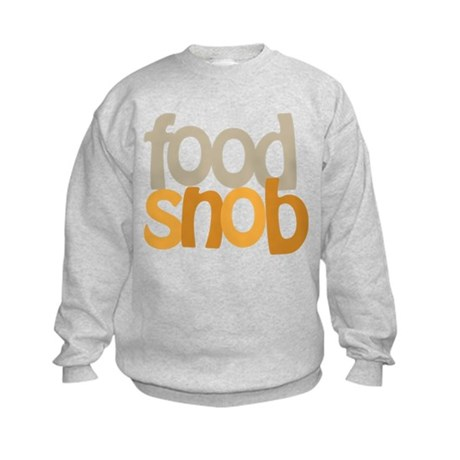 Food Snob Kids Sweatshirt