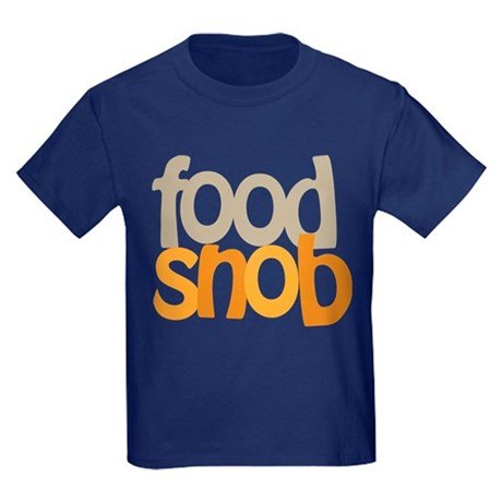 Food Snob Kids Dark T-Shirt