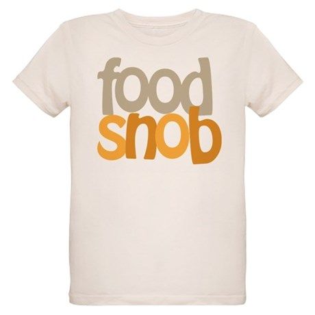 Food Snob Organic Kids T-Shirt