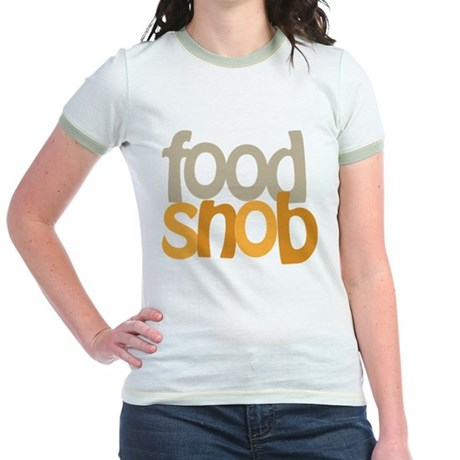 Food Snob Jr. Ringer T-Shirt