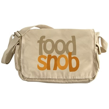 Food Snob Messenger Bag