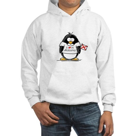Alabama Penguin Hooded Sweatshirt