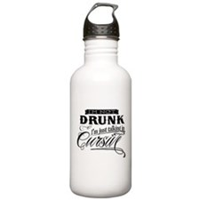 Talking In Cursive Water Bottle
