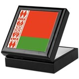 Belarus Flag Keepsake Box
