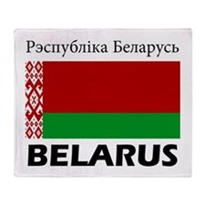 Belarus Throw Blanket
