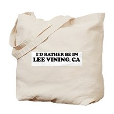 Rather: LEE VINING Tote Bag