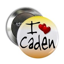 I Heart Caden 2.5 inch Button