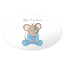 Baby Boy Mouse Blue Sleeper Decal