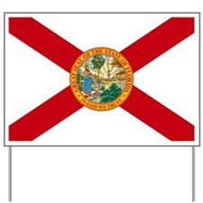Florida State Flag Yard Sign