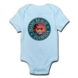 Miami Beach Infant Bodysuit