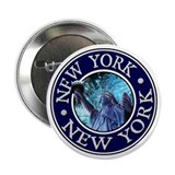 "New York 2.25"" Button"