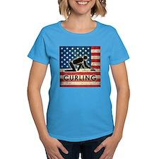 Grunge USA Curling Tee