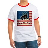 Grunge USA Curling T