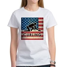 Grunge USA Curling Tee