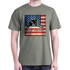 Grunge USA Field Hockey T-Shirt