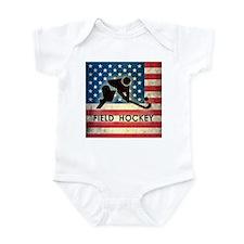 Grunge USA Field Hockey Infant Bodysuit