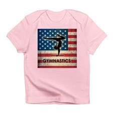 Grunge USA Gymnastics Infant T-Shirt