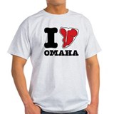 Cute I heart omaha T-Shirt