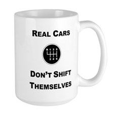 Real Cars Shift Themselves Mug