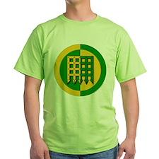 Unser Hafen Populace Green T-Shirt