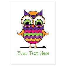 Customizable Whimsical Owl Invitations