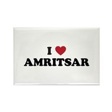 I Love Amritsar Rectangle Magnet
