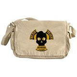 Radioactive Zombie Patrol Messenger Bag