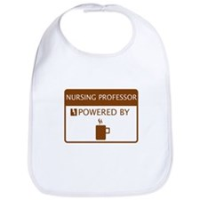 Nursing Professor Powered by Coffee Bib