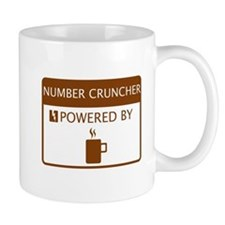 Number Cruncher Powered by Coffee Mug