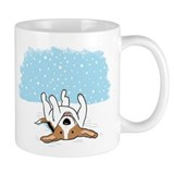 Happy Snow Beagle Mug