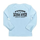 Future Scuba Diver Long Sleeve Infant T-Shirt