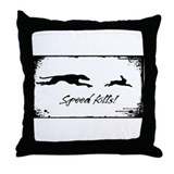 Speed Kills Throw Pillow