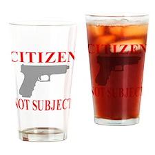 CITIZEN Drinking Glass