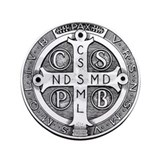 "Medal of Saint Benedict 3.5"" Button (100 pack"