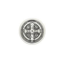 Medal of Saint Benedict Mini Button (10 pack)