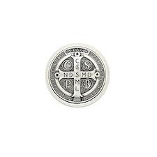 Medal of Saint Benedict Mini Button