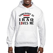 Somebody In Iraq Hoodie