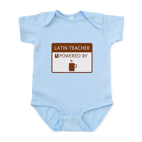 Latin Teacher Powered by Coffee Infant Bodysuit