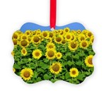 Sunflowers Picture Ornament