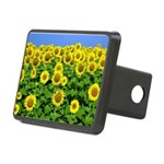 Sunflowers Rectangular Hitch Cover