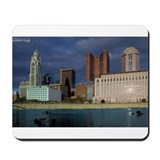 Columbus By The River Mousepad