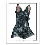 Scottish Terrier Open Edition Small Poster