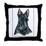 Scottish Terrier Open Edition Throw Pillow