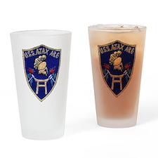 USS AJAX Drinking Glass