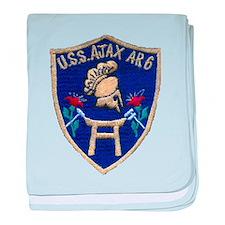 USS AJAX baby blanket