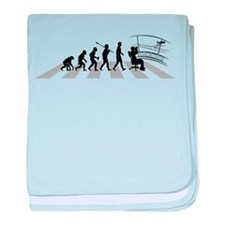 Air Traffic Controller baby blanket